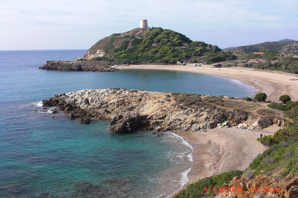 Torre di Chia, Sardinien