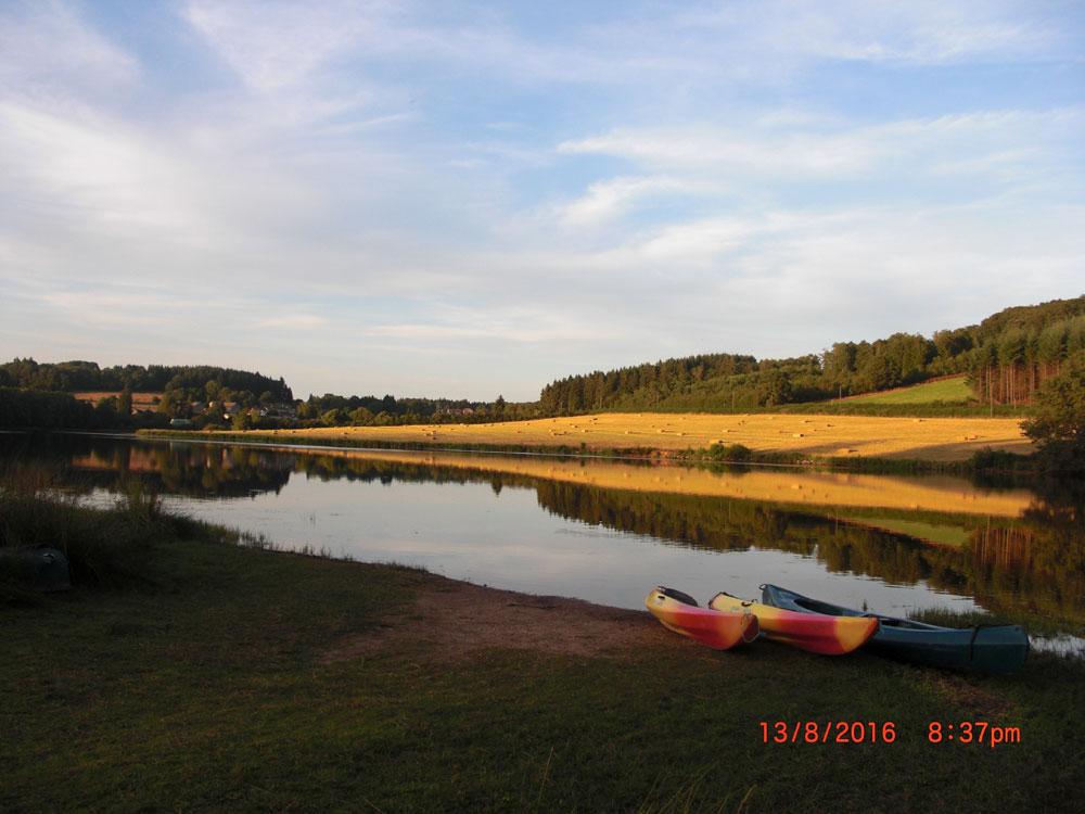 Abendstimmung am Lac Saint-Agnan