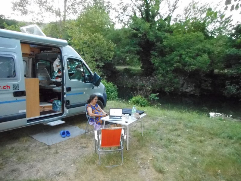 Camping am L'Arre in Avéze
