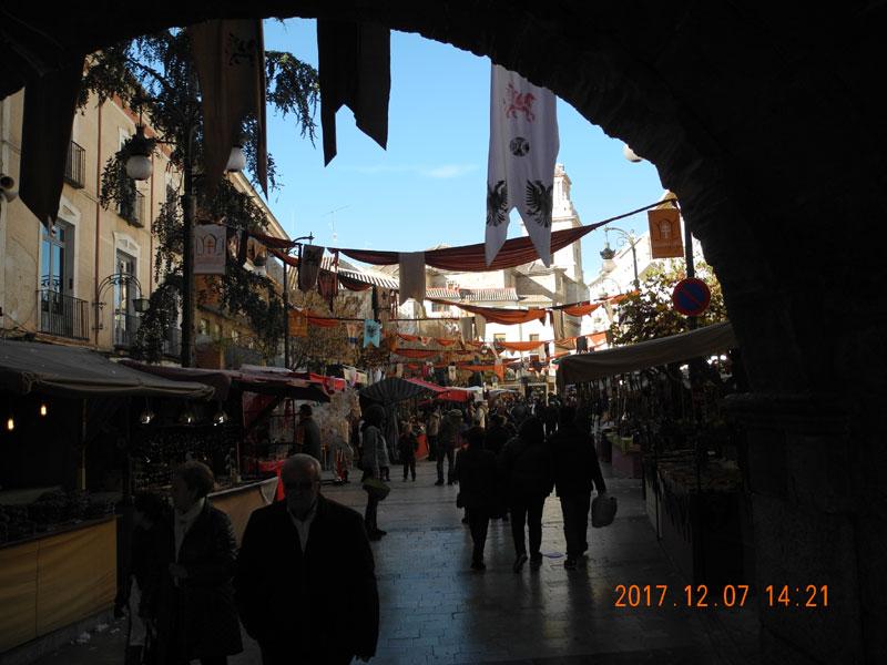 Plaza de Arco mit Restaurant del Arco